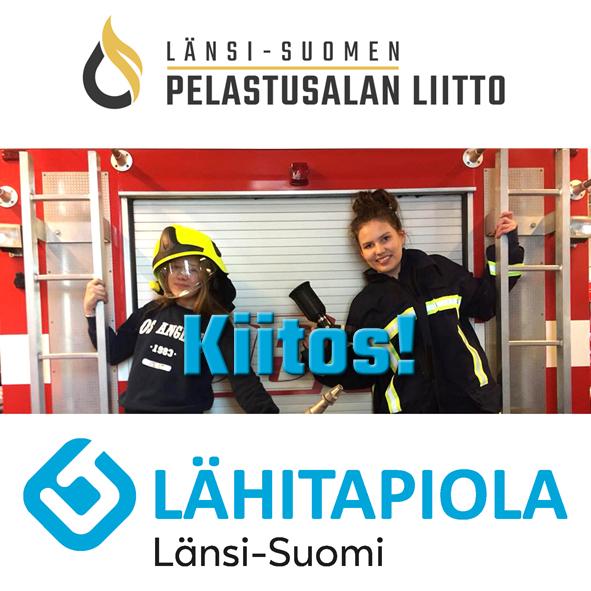 LähiTapiola Länsi-Suomi tukee liiton palokuntanuorisotyötä